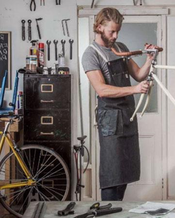 La REcyclerie, ateliê de conserto de bicicleta