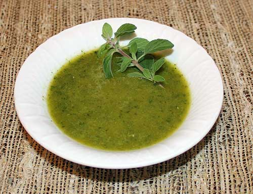 Vinaigrette com ervas. Scott Veg no Flickr