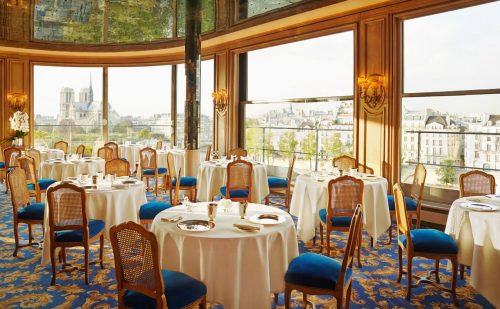 O restaurante Tour d'Argent