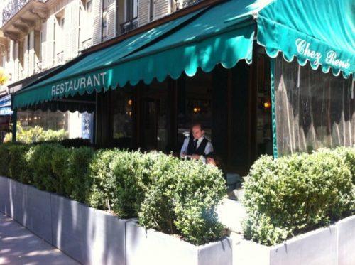 O restaurante Chez René