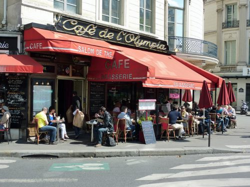 O Café de l'Olympia (Foto: gula08 no Flickr)