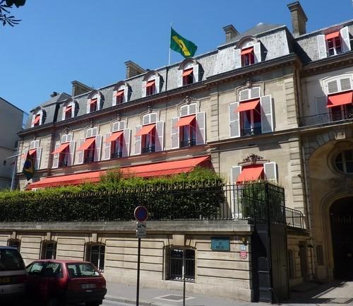 A Embaixado do Brasil em Paris