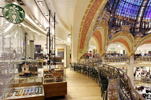 restaurantes na Galeries Lafayette