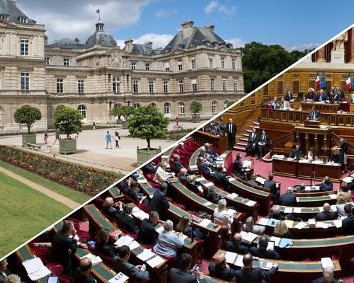 Palais du Luxembourg (dentro do Jardin du Luxembourg)