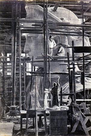 Estátua Liberdade: construção