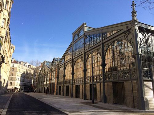 Carreau du Temple, Marais