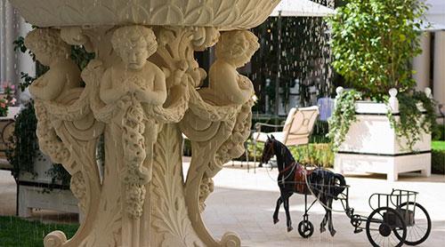 Jardim do Hotel Bristol
