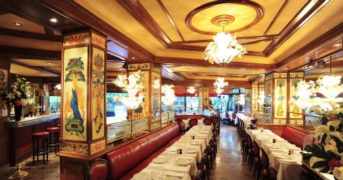 O restaurante Au Pied du Cochon