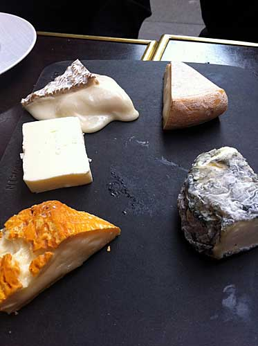 Prato de queijos
