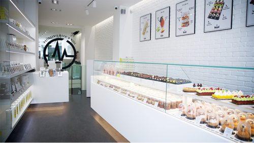 A loja récem-inaugurada em Saint Germain