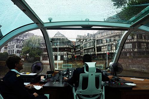 Passeio de barco por Estrasburgo