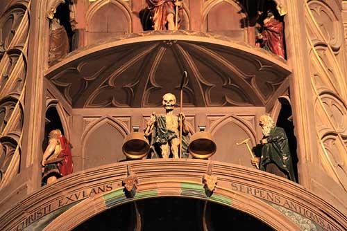 Relógio da Catedral de Estrasburgo. Alexandre Dolique no Flickr