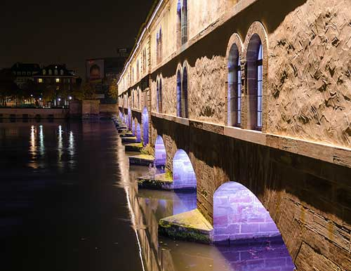 A barragem Vauban, em Estrasburgo. Net Circlion no Flickr