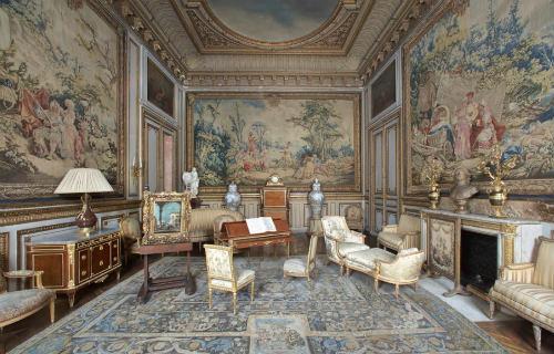 A sala das tapeçarias
