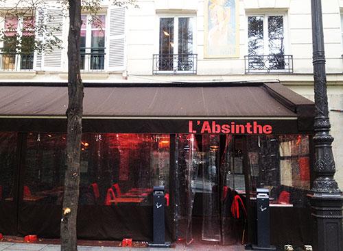 10 bons restaurantes perto do Louvre. L'Absinthe