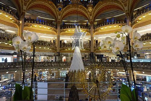Natal nas Galeries Lafayette