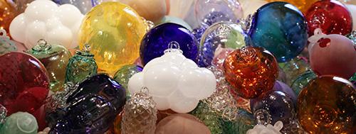 Bolas de Natal de Cristal