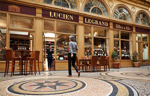 10 bons restaurantes perto do Louvre. Caves Legrand