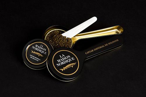Caviar francês. Maison Nordique