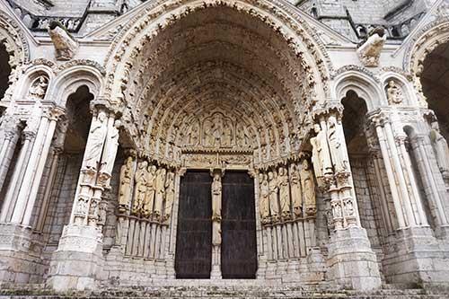 Catedral de Chartres. Fachada Sul