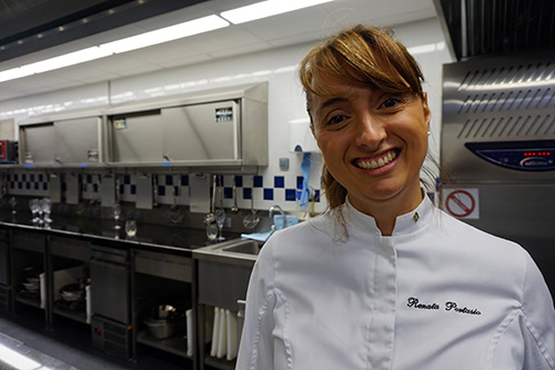 Cordon Bleu de Paris. Chef Renata