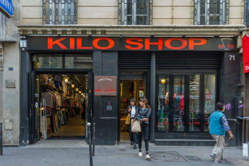 brechós de roupa masculina em Paris