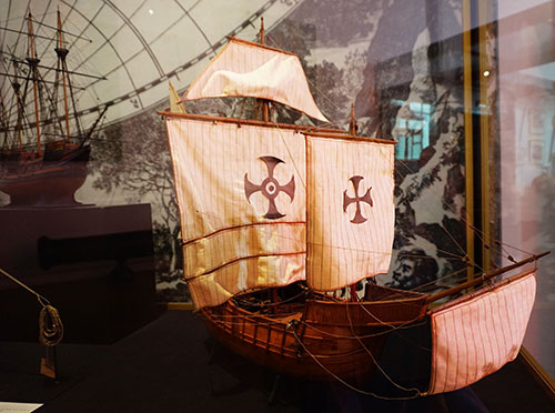 Museu da Marinha. Navio de Cristovão Colombo