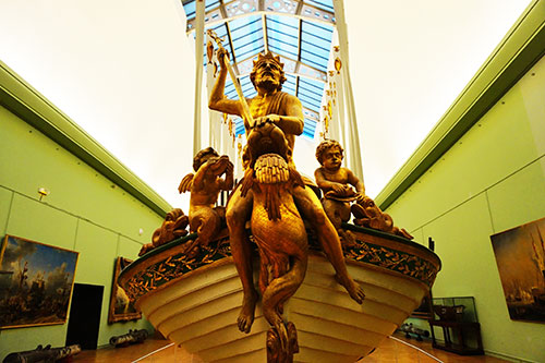 Museu da Marinha, barca do Imperador