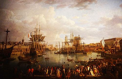 Museu da Marinha. Porto de Brest