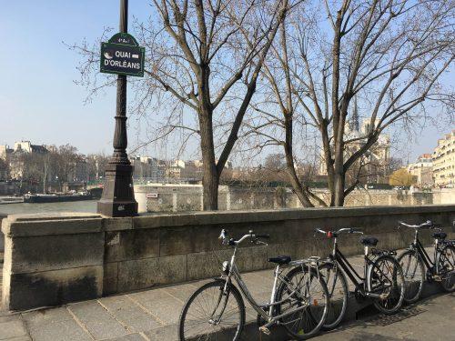 bicicleta em paris