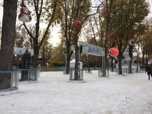 pistas de patinação no gelo