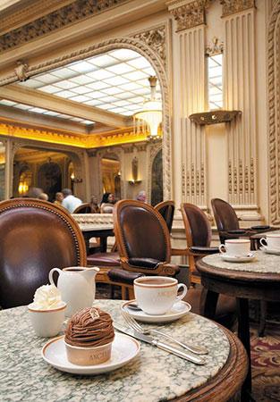 Salão de chá Angelina. Rue de Rivoli