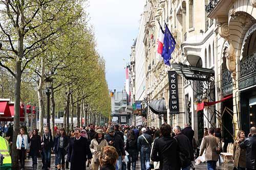Pequenos segredos da avenida Champs Élysées. Roman Lashkin no Flickr