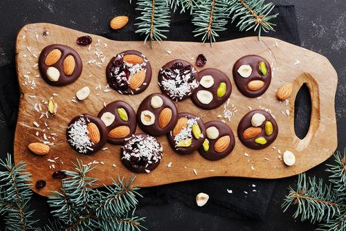 Mendiants de Noël, inspirados nas sobremesas natalinas da Provence
