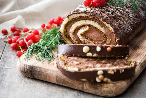 Tradicional sobremesa de Natal francesa