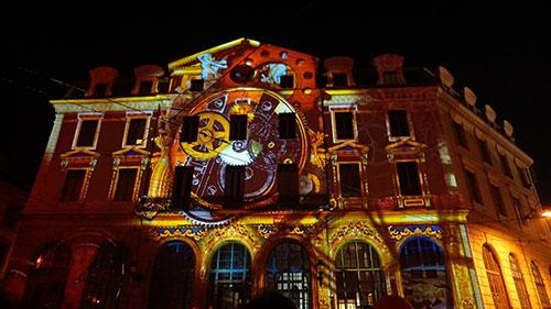Lyon, Festa das Luzes, Estação Saint Jean