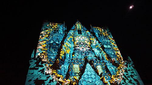 Lyon, Festa das Luzes, Catedral Saint Jean