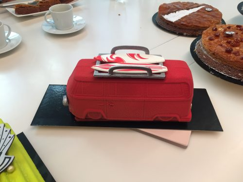 Torta de Natal francesa. chef Christophe Michalak