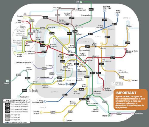 metrô no réveillon Paris 2017