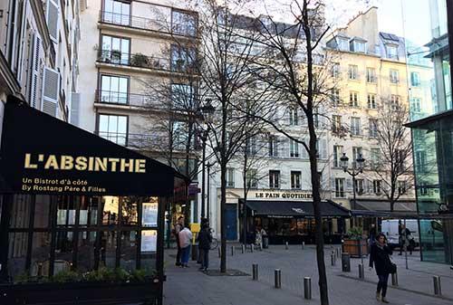 Praça Marché Saint Honoré