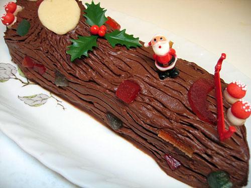 Torta de Natal francesa