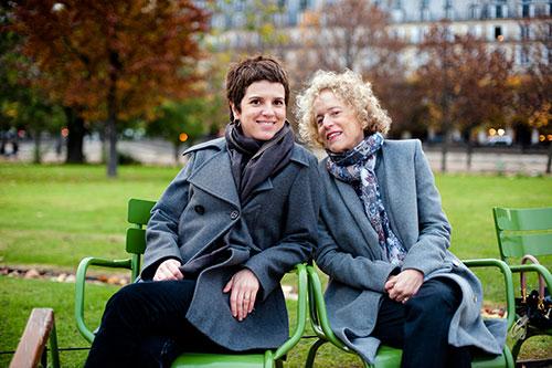 Lina e Mariana do Conexão Paris