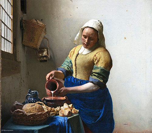 Exposições Paris 2017. Vermeer,