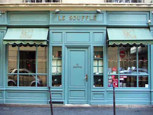 Paris rua Mont Thabor
