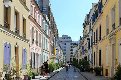 ruas preferidas em paris