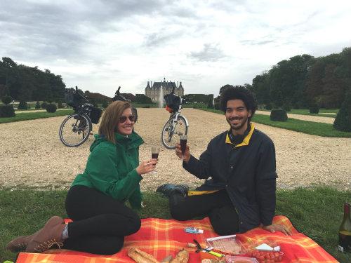 viagem de bike pela Normandia