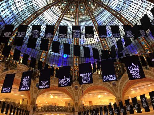 Galeries Lafayette celebra a criatividade do continente africano