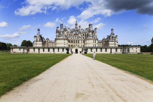 O que fazer no Vale do Loire? Visitar o castelo de Chambord.
