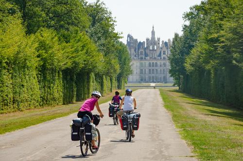 O que fazer no Vale do Loire? Cicloturismo.