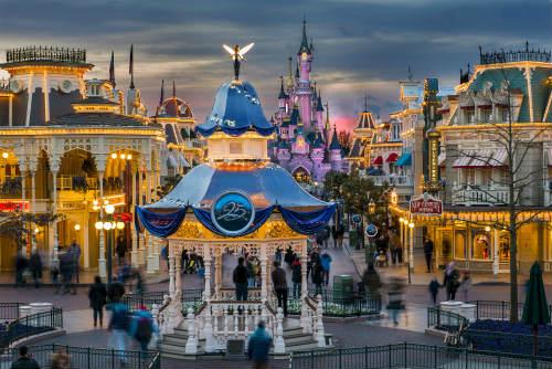 ingressos para a Disney Paris